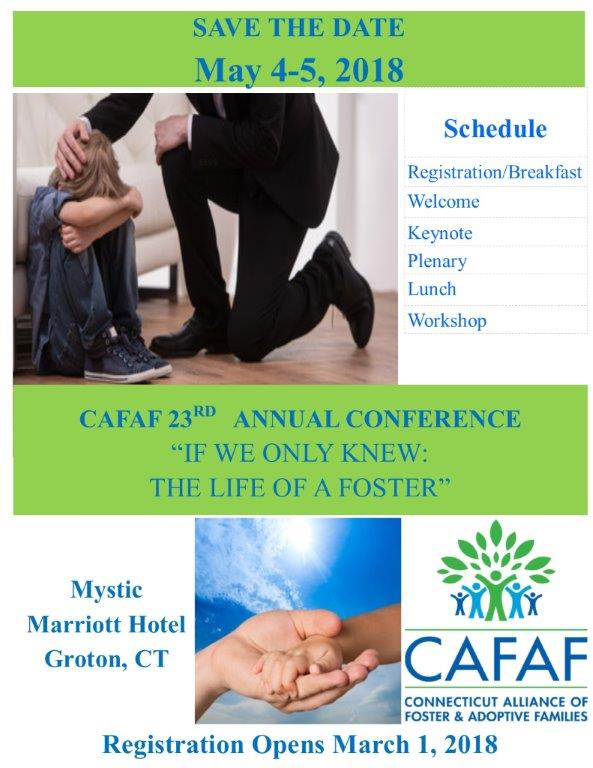 Save the Date - CAFAF Annual Conference @ Mystic Marriott Hotel & Spa | Groton | Connecticut | United States
