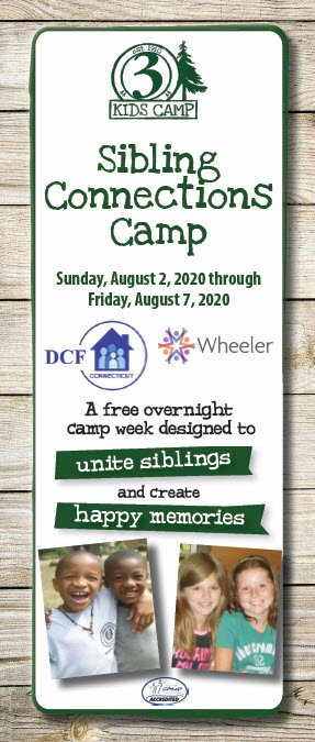 Sibling Connections Camp - 2020 @ CHANNEL 3 KIDS CAMP | Andover | Connecticut | United States
