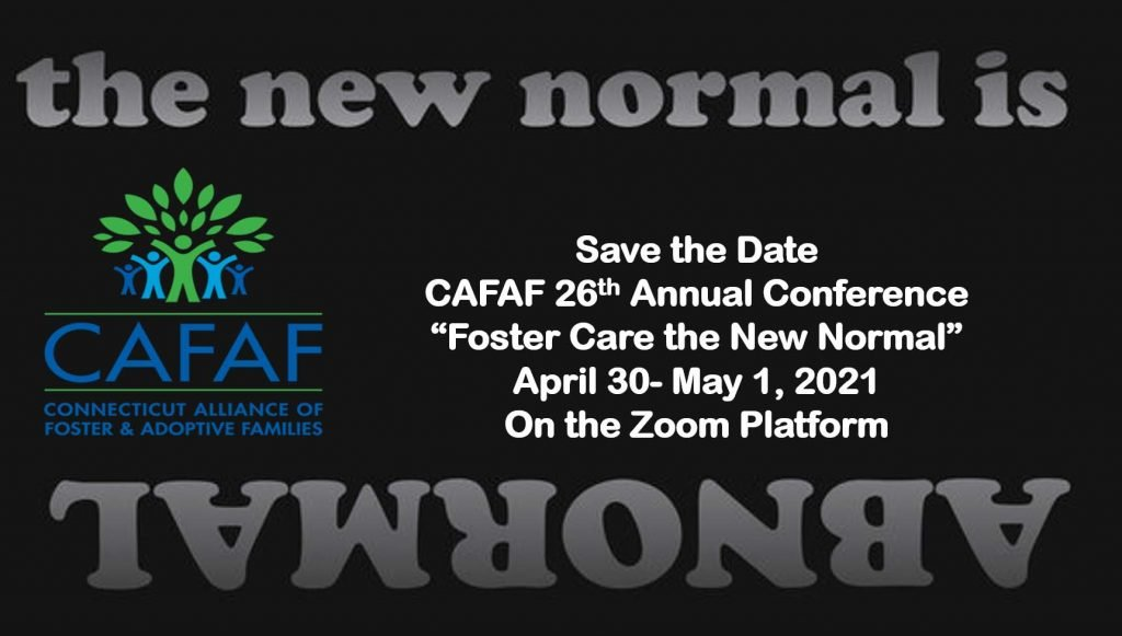 Save the Date - Annual Conference April 30- May 1, 2021