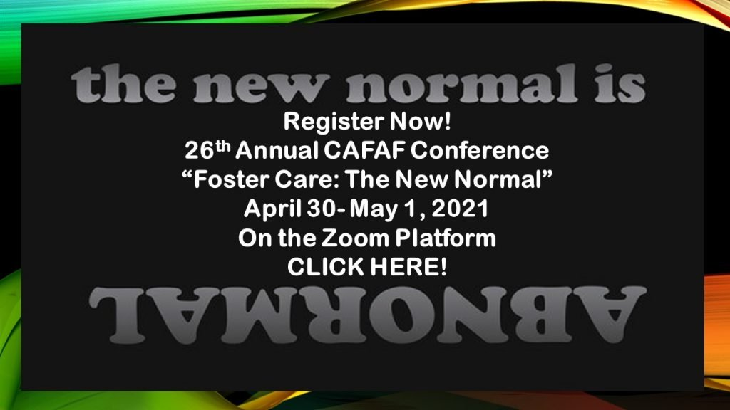 Annual Conference April 30- May 1, 2021
